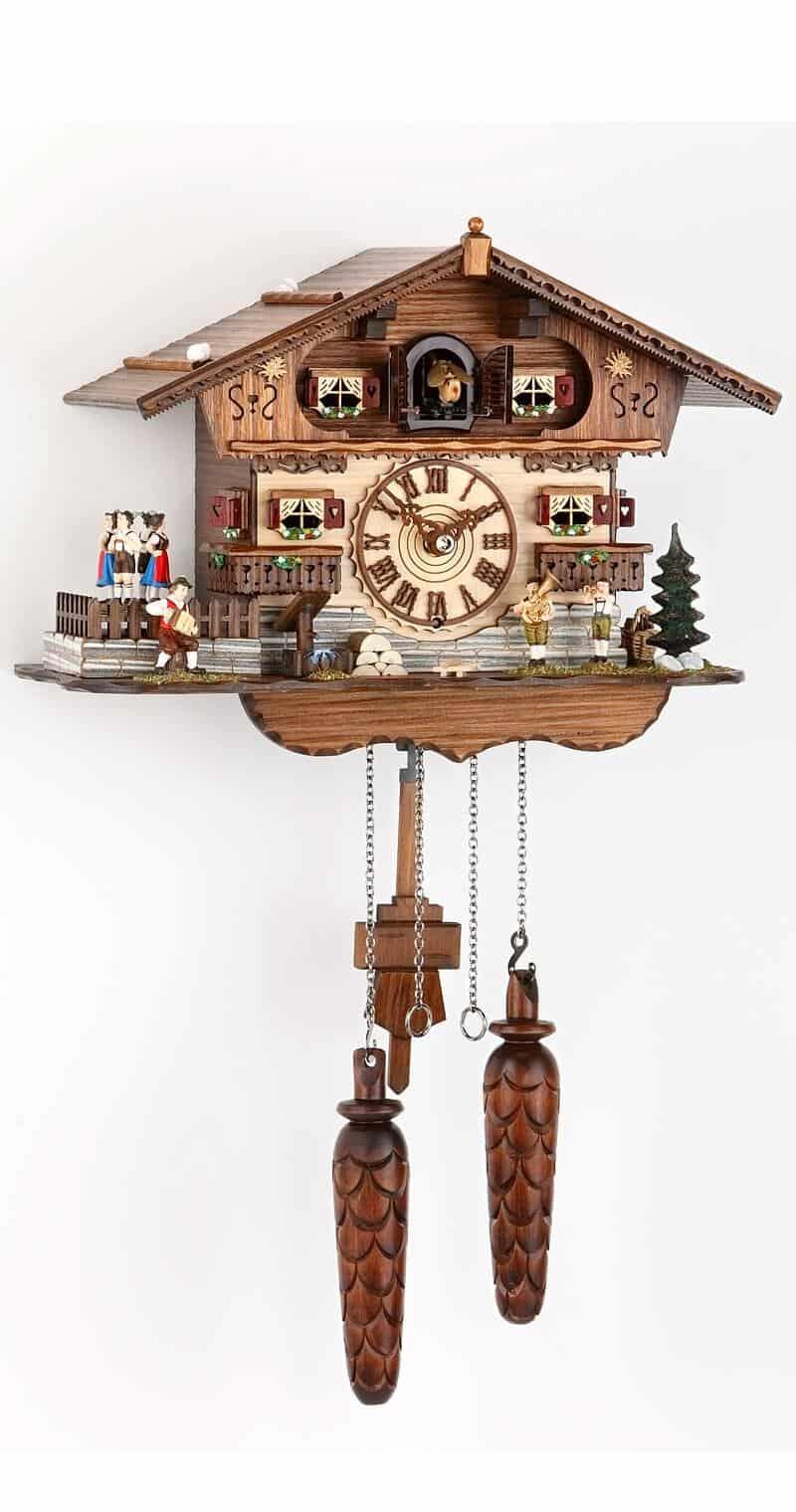 cuckoo clock with dancers